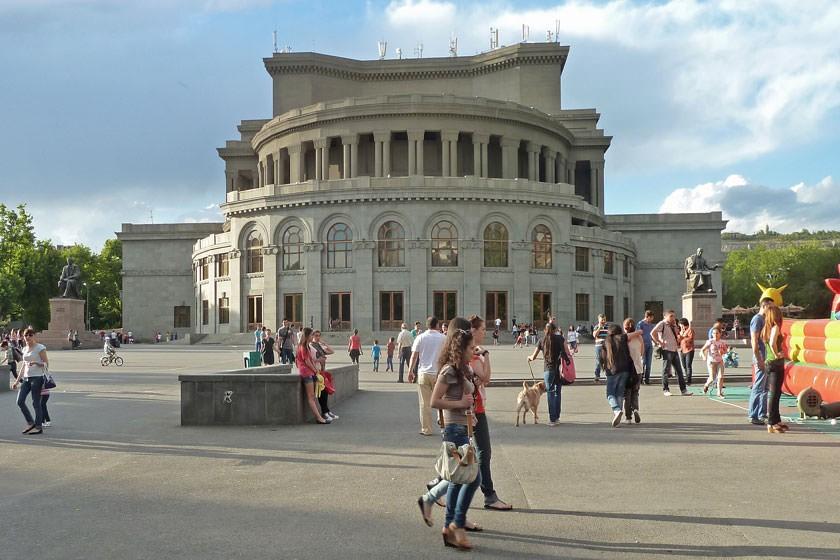 شرایط کار در ارمنستان